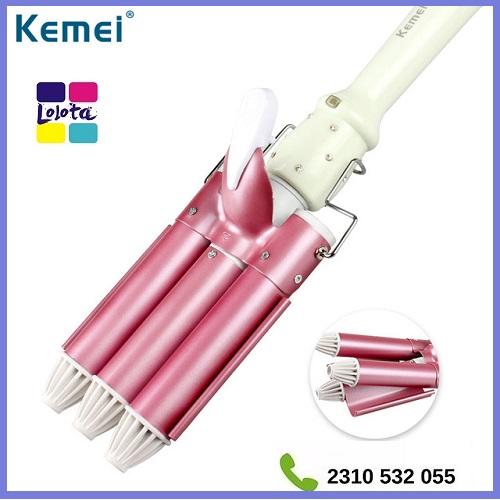Τριπλό Ηλεκτρικό Ψαλίδι Μαλλιών Τουρμαλίνης 25mm KEMEI KM-926 21d8f1fae4e